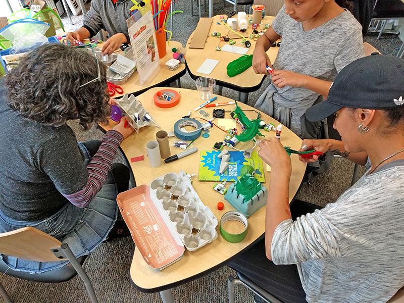 Cambridge Science Festival littleBits activity