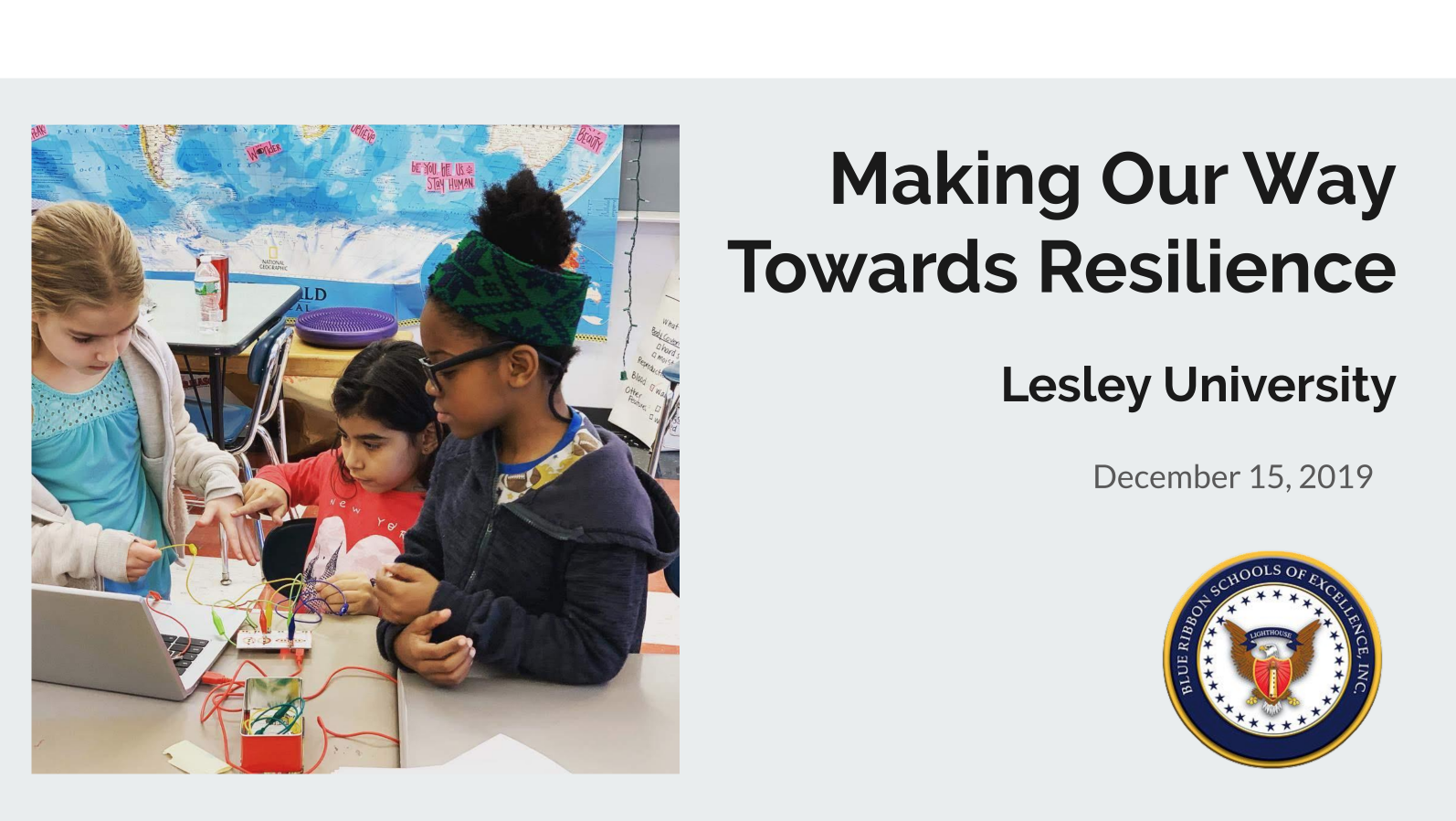 Making Our Way Towards Resilience Slideshow
