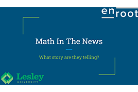 Math In The News activity