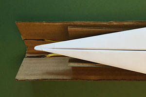 A Cardboard Paper Airplane Launcher Instructables Image