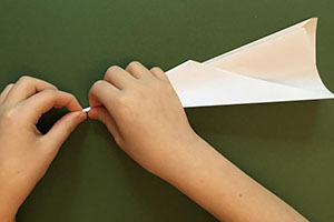 A Very Simple Paper Airplane Instructables Image